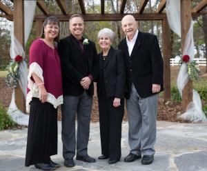 Rev.Les and Nini Hughes Les' Parents